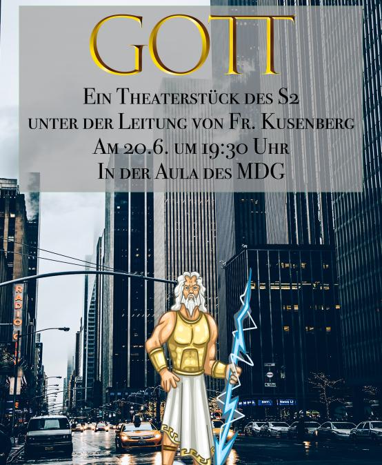 GOTT – Ein Theaterstück des S2