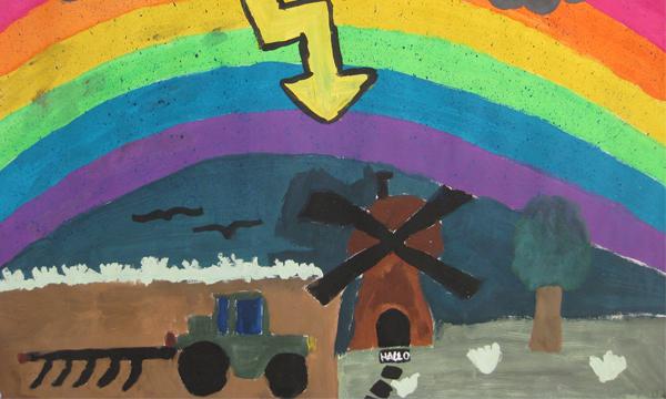 Regenbogen, Max Walter Klasse 5a