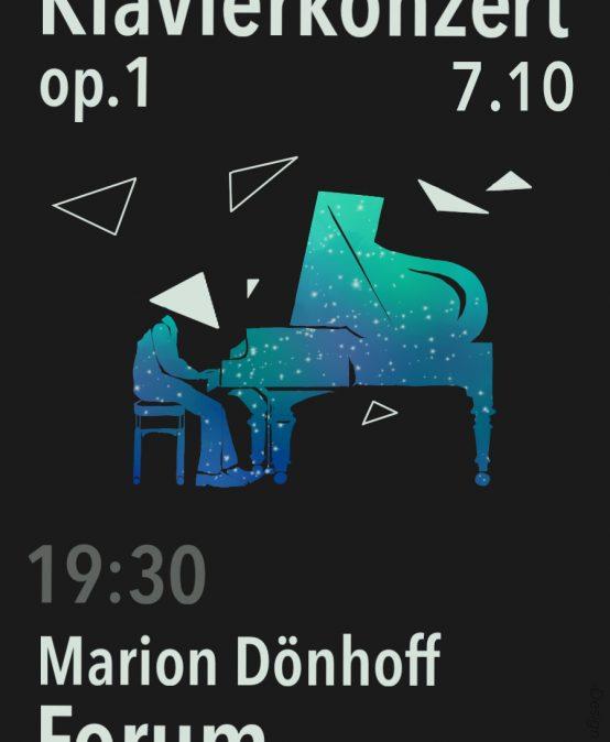 Klavierkonzert op. 1