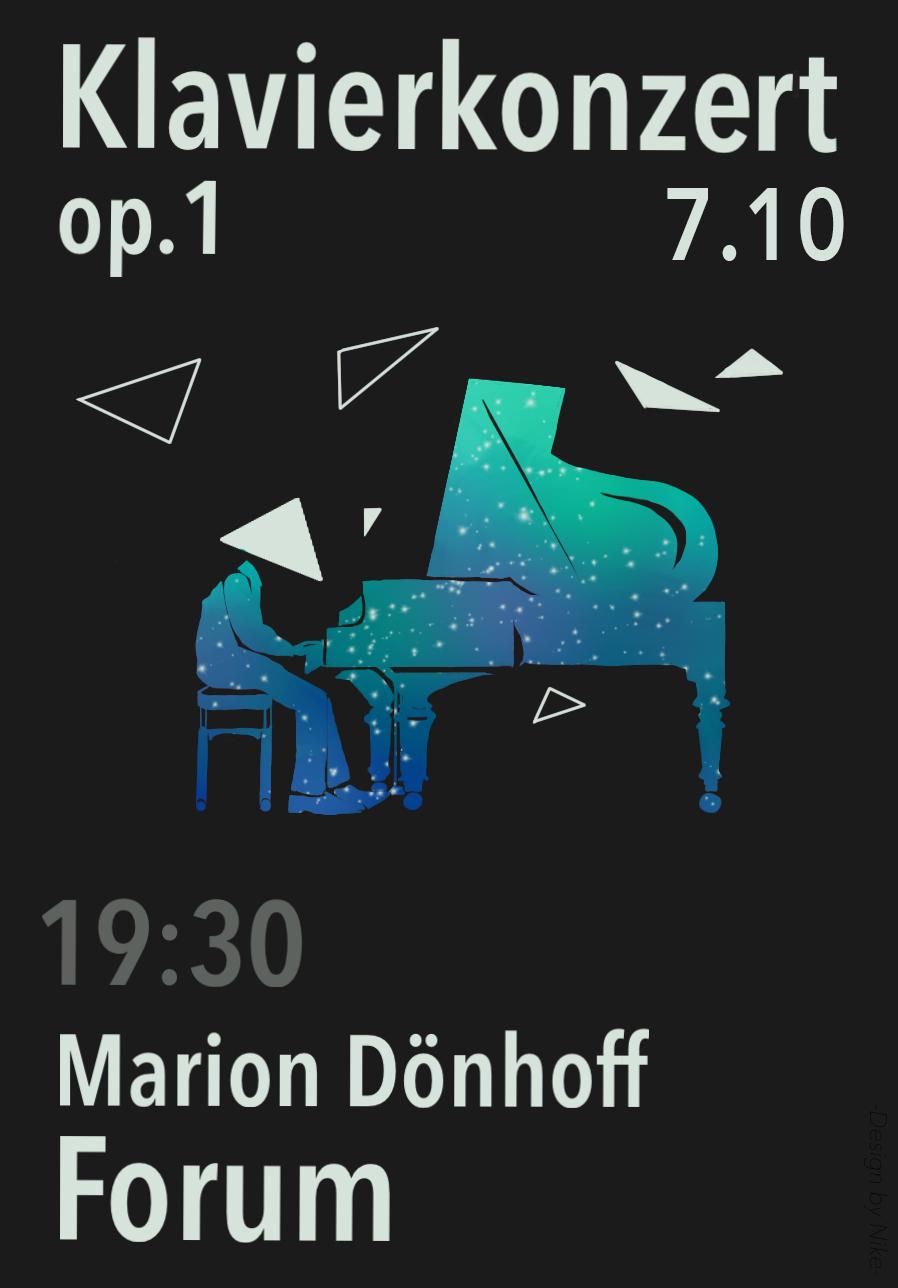Klavierkonzert op. 1 (am 07. Oktober 2016, um 19:30 Uhr)