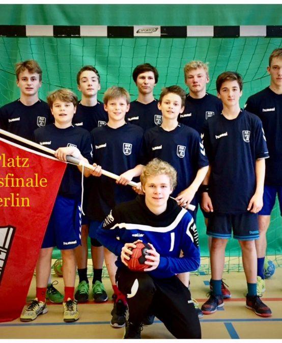 Handball  JtfO-Bundesfinale Berlin 2017