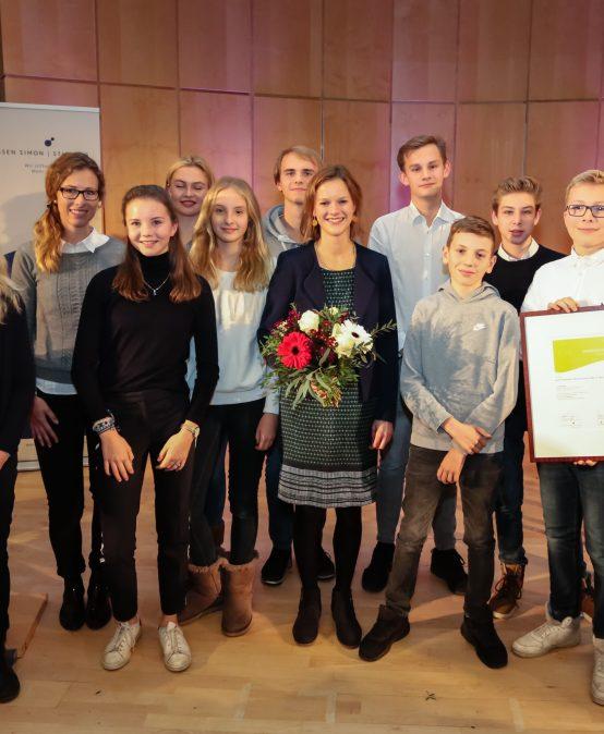 """Erfolgreiche Bewerbung im Rahmen des Wettbewerbs """"Unseren Schulen""""!"""