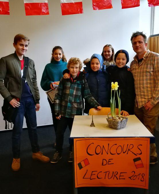 Herausragende Leistung beim Vorlesewettbewerb Französisch
