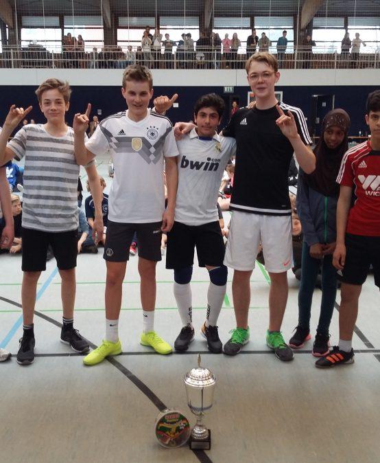 Sozialprojekt der Klasse 8d im Schuljahr 2017/18: MDG-Frühlings-Cup 2018