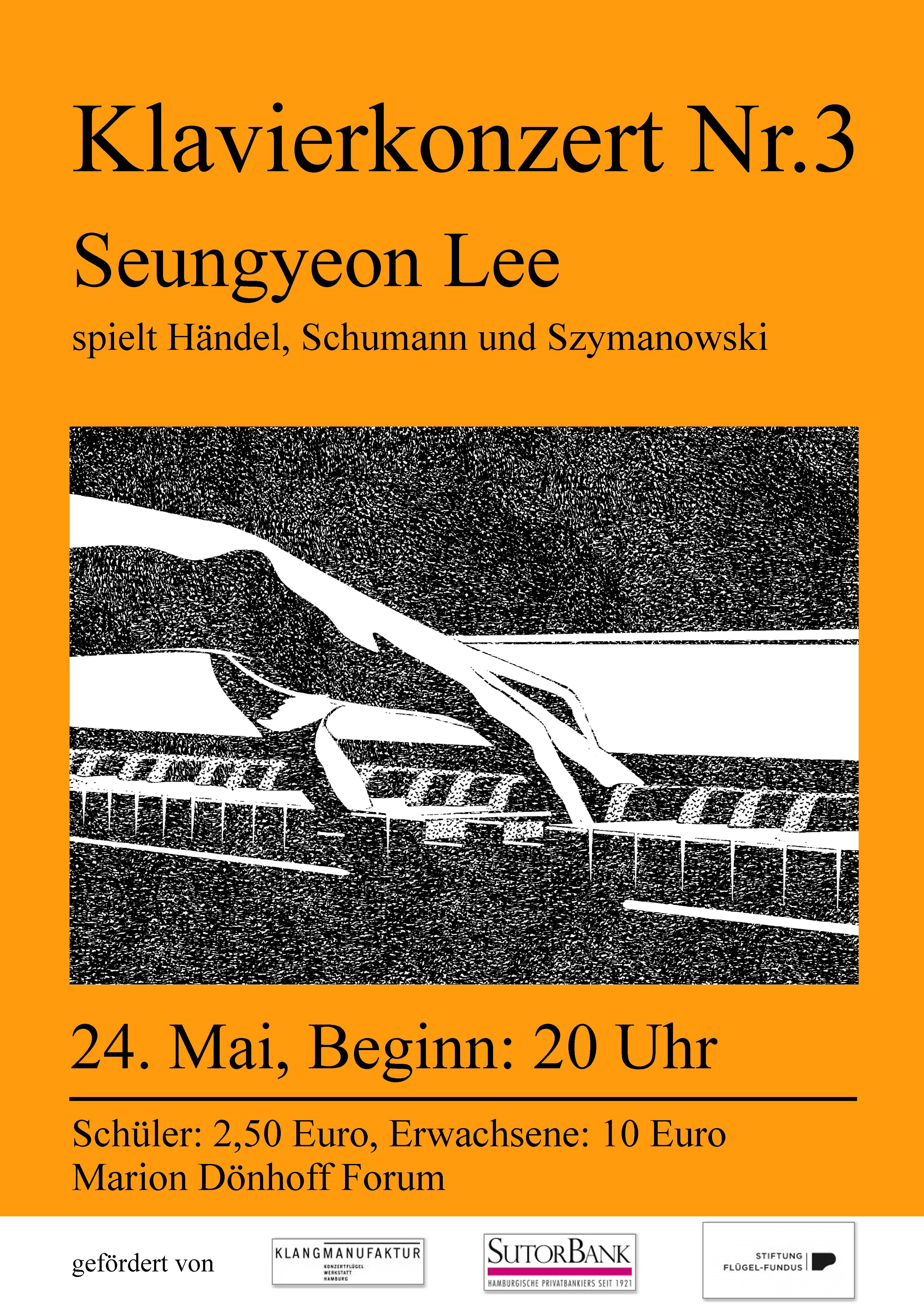 Klavierkonzert Nr.3   Do, 24. Mai 2018 – 20 Uhr