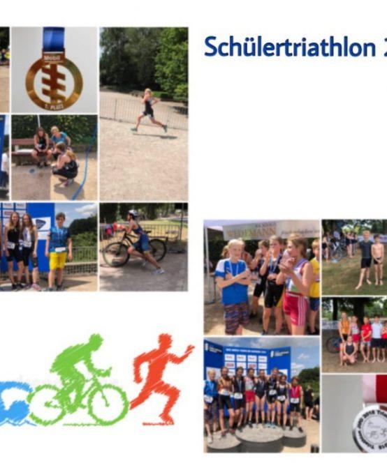 Landesmeister  Platz 2  im Triathlon bei Jugend trainiert für Olympia